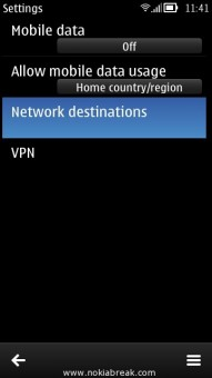 Network Destination