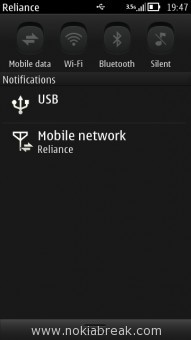 Disable GPRS on Belle