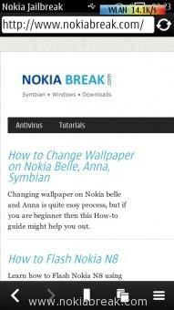 Nokia Browser Testing Wi-Fi