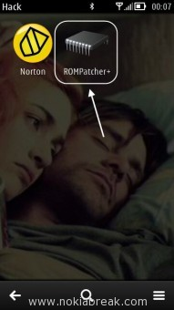 Rom Patcher Plus Installed on Nokia
