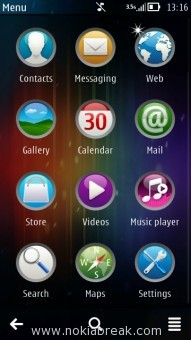Android Theme for Nokia Icons