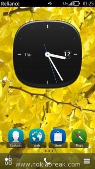 Big Analog Clock