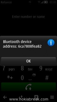 BlueTooth Device Address