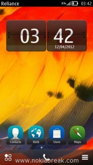 Digital Clock Transparent