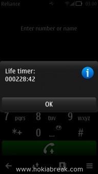 N8 Life Timer