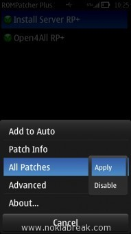 ROM Patcher Plus Apply Patches