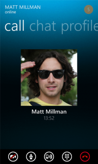 Skype for Windows Phone online