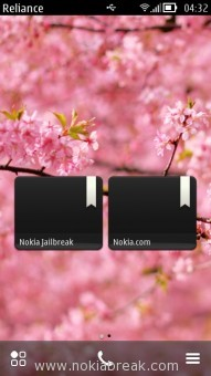 Visual Bookmark Widget