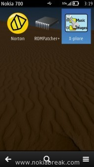 Open X-Plore.sisx