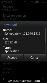 Nokia Belle Refresh Download