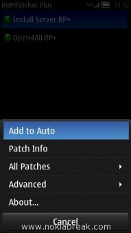 Add to Auto Rom Patcher