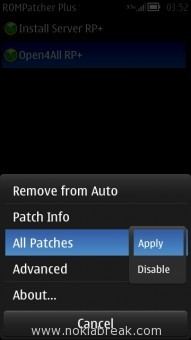 Apply Patches