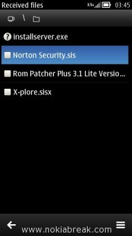 Install Norton Security.sis on Nokia N8