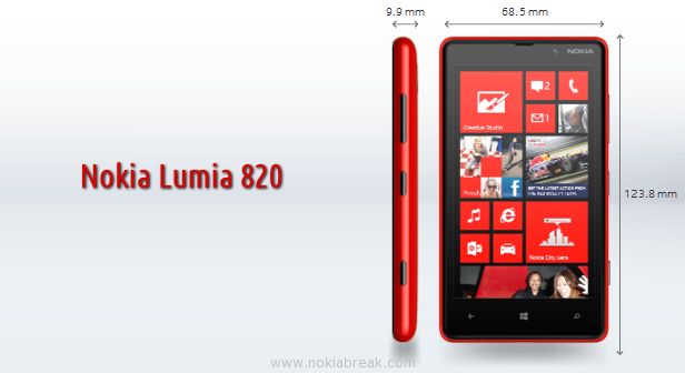 Nokia Lumia 820 Price features