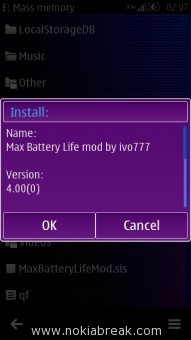 Max Battery Life Mod