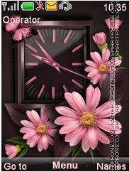Flowers Theme nokia c3 theme