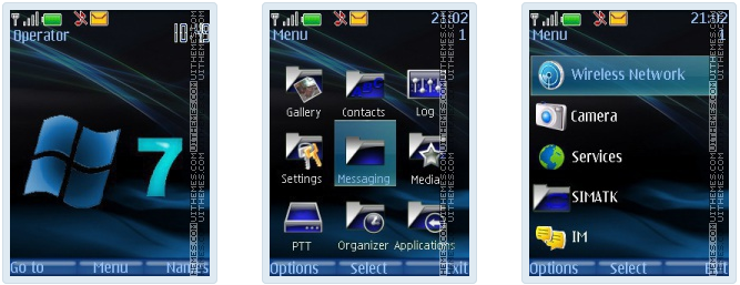 Windows 7 Theme nokia c3