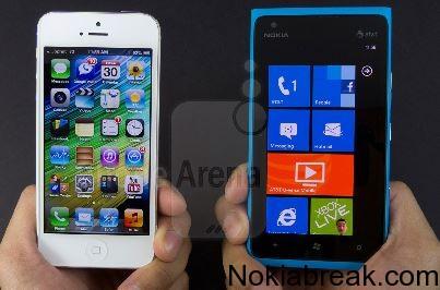Nokia Lumia 900 Vs iPhone 5
